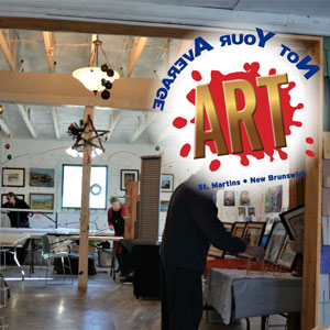 Not Your Average Art Gallery & Shop